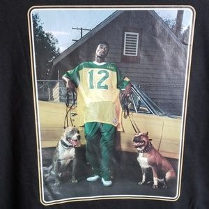Other - Snoop Dogg Pit Bull Graphic Shirt XL